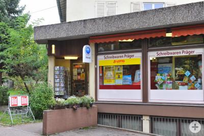 Außenansicht Schreibwaren Präger in Waiblingen