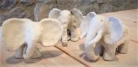 Elefanten aus Ton