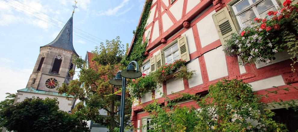 Impression aus Ortschaft der Stadt Waiblingen